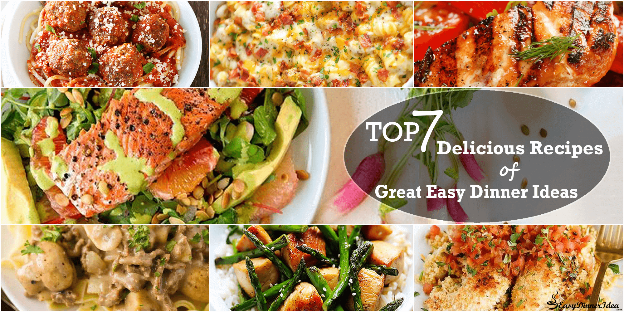 7 great easy dinner ideas forumfinder Gallery